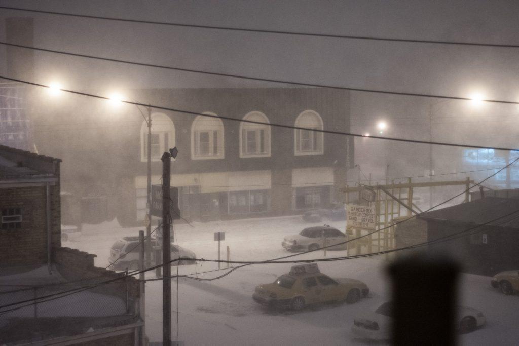 Lightning Blizzard Chicago