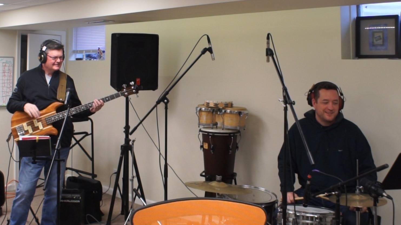 Steve (Bass) & Matt (Drums)