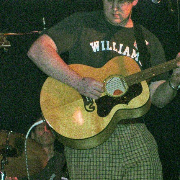 miles jumbo gibson acoustic guitar