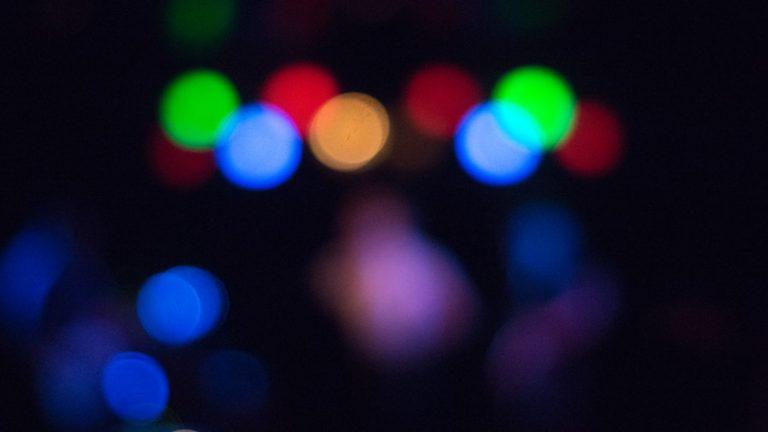 blurry concert