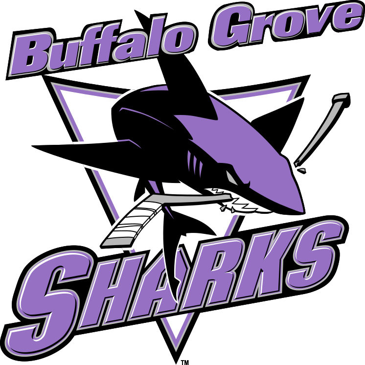 New Buffalo Grove Sharks Hockey Logo