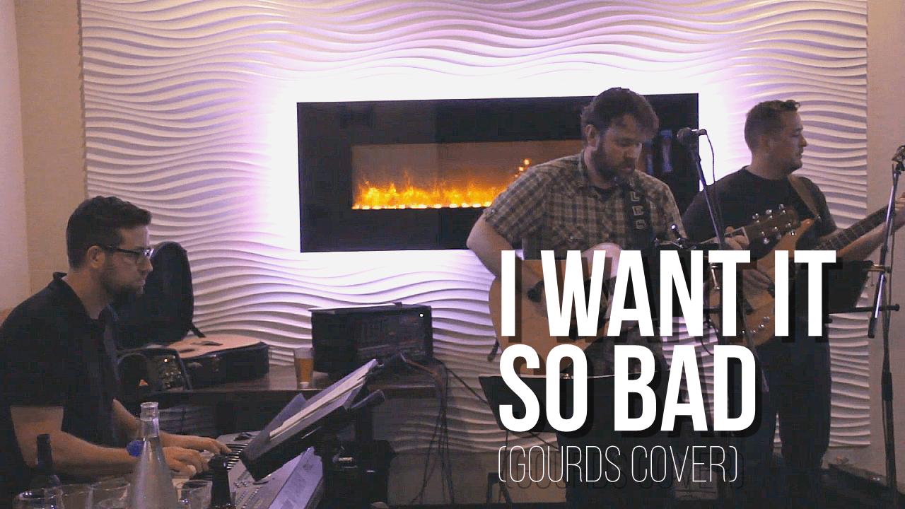 """I Want it So Bad"" Gourds Cover"
